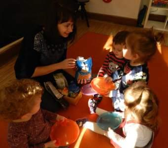 Projekt badawczy w przedszkolu.