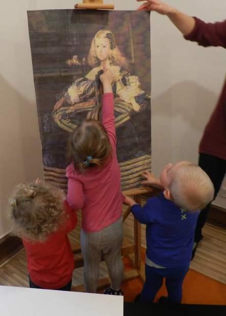 Historia sztuki - zajęcia w przedszkolu